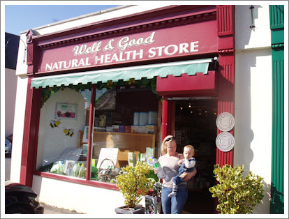 Well and Good! Natural Healthstore, Broderick Street, Midleton, Co. Cork, Ireland.